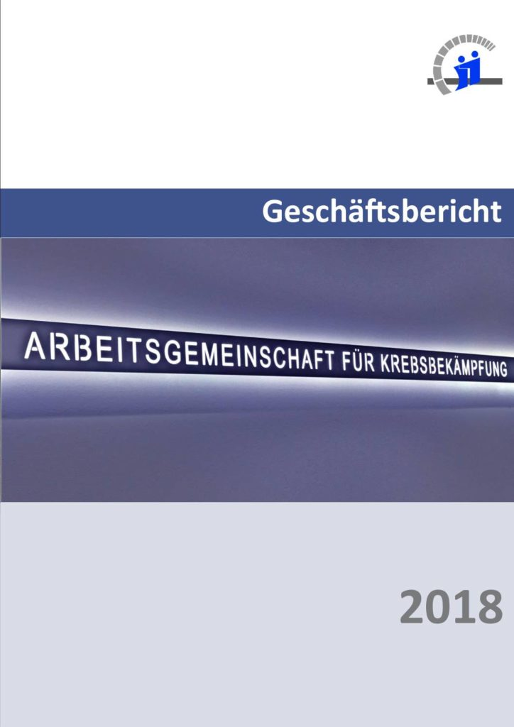 Titel Geschäftsbericht 2018
