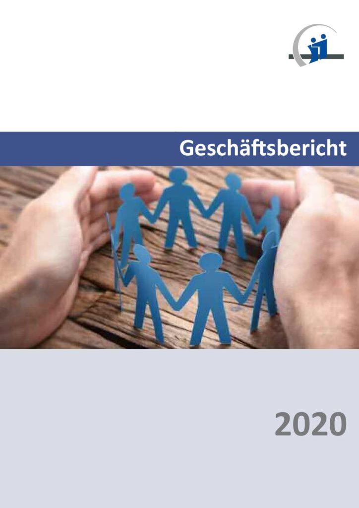 Titelseite Geschäftsbericht 2020