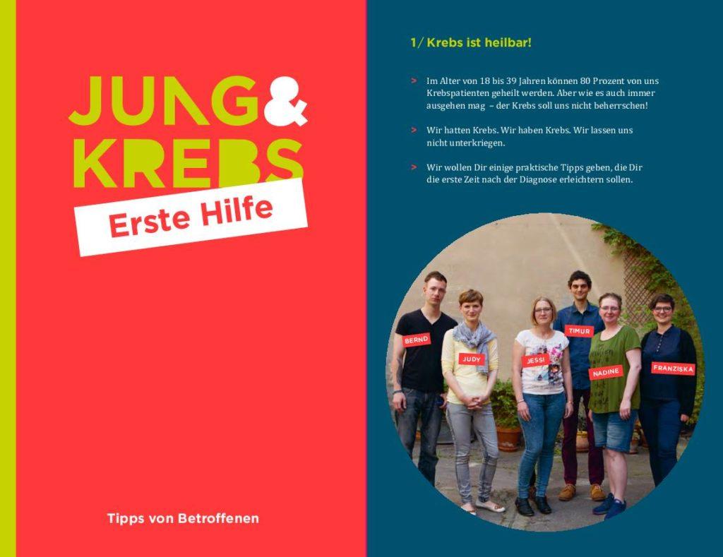 Jung & Krebs Erste Hilfe Flyer