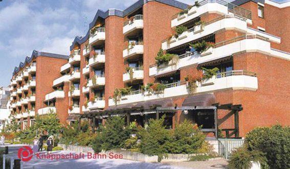 Gebäudeansicht Knappschafts-Klinik Bad Neuenahr