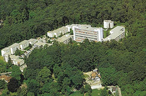 Luftaufnahme des Reha-Zentrum Bad Homburg