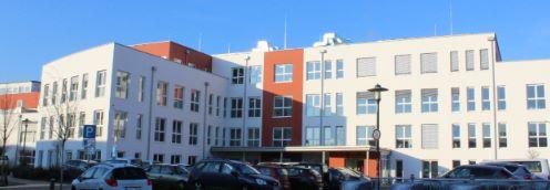 Gebäudeansicht der Sieg Reha GmbH in Hennef